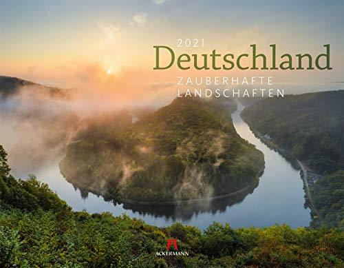 Deutschland - Zauberhafte Landschaften Kalender 2021, Wandkalender im Querformat (54x42 cm) - Landschaftskalender / Naturkalender