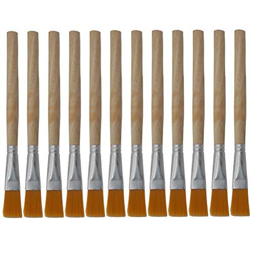 Escova de caneca de escova macia de 12 unidades Escova de teclado Escova de limpeza de poeira para zona morta livre para uso diário em escritório doméstico- ferramentas de limpeza