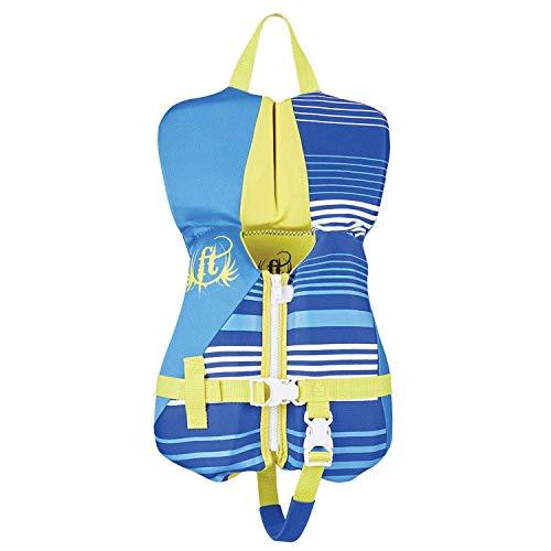 Full Throttle Infant Rapid Dry Flex-Back Life Jacket, Blue