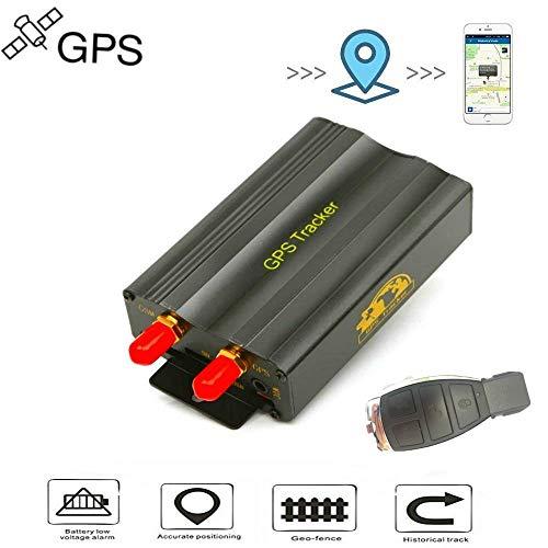 Winnes GPS Tracker, Fahrzeug Auto Motorrad LKW Echtzeit GPS Ortung GPS mit Fernbedienung GPS Locator GPRS/GSM/GPS Tracker mit kostenlose App TK103B