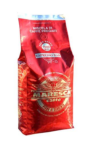 Caffè Maresca: de smaak van verschil. Mix room en proef. 1 kg pak koffiebonen