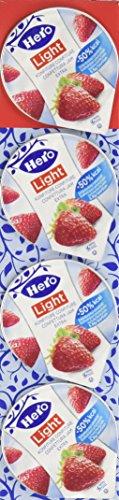 Hero 106421 Light Confettura Astuccio Poker Fragola senza Zuccheri Aggiunti - 30 Confezioni da 4 X 25 Gr