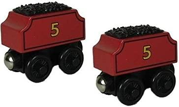 Thomas Wooden Railway Train - TWO James Tenders - Loose Brand New