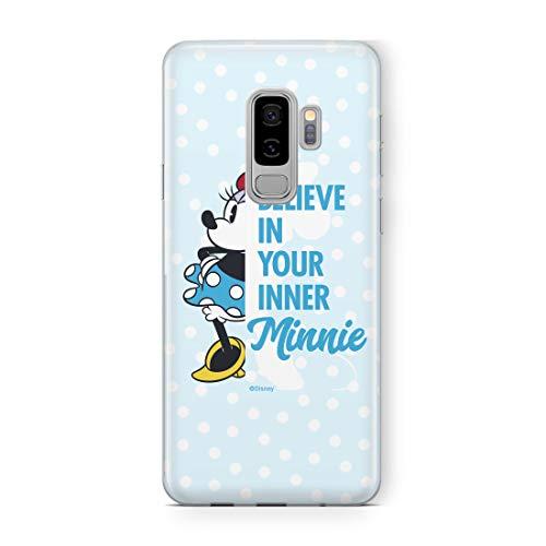 ERT GROUP Coque pour Samsung S9 Plus Disney Minnie et Mickey Mouse Originale et sous Licence Officielle. Coque en Plastique TPU Silicone pour Samsung S9 Plus. Protège Contre Les Chocs et Les Rayures.
