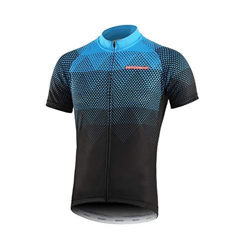 Bergrisar - Maglia da ciclismo a maniche corte, da uomo -  -  XL