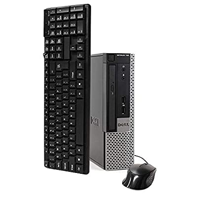 Dell Optiplex 790 Ultra Small Desktop PC, Intel Quad Core i5 Processor, 16GB RAM, New 2TB Solid State Hybrid Drive, Windows 10 Pro, DVD, Keyboard, Mouse, WiFi (Renewed)