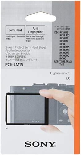 Sony PCK-LM15 Robuste LCD-Schutzabdeckung für DSC-RX1/DSC-RX100