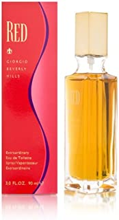 Red by Giorgio Beverly Hills for Women 3.0 oz Extraordinary Eau de Toilette Spray