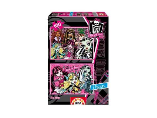 Educa Borrás 15130 - 2X100 Monster High