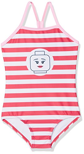 Lego Wear Mädchen Einteiler Lego Girl Agata 422 - Badeanzug 20158, Gr. 104, Rot (Coral Red 322)