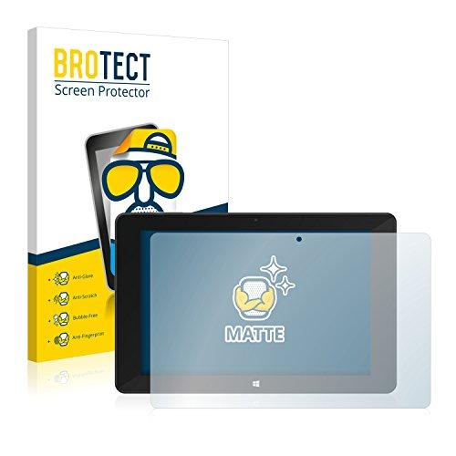 brotect Pellicola Protettiva Opaca Compatibile con SilverCrest 2-in-1-Tablet 10.1 Pellicola Protettiva Anti-Riflesso (2 Pezzi)