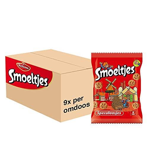 Smoeltjes Speculaas Koekjes 1,8 Kg Grootverpakking Vrolijke Mini Kinderkoekjes in de Vorm van Leuke Gezichtjes Verpakt…