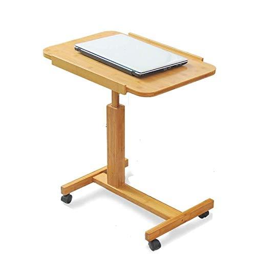 SMEJS Oficina Ajustable y Plegable de Mesa en casa Mesa Plegable de jardín mesas de Comedor Mesa de Soporte de oficinas de pie Base del Equipo
