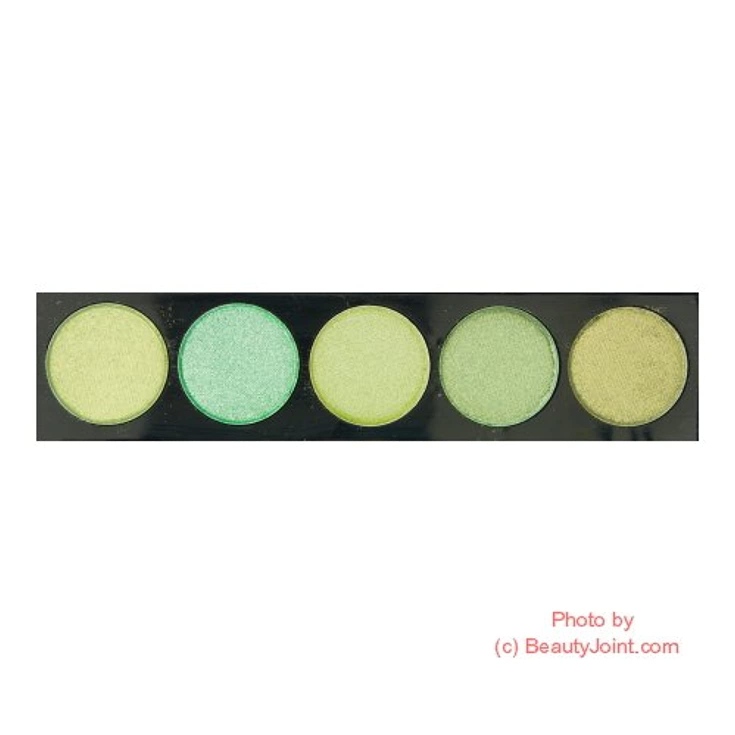 釈義境界電信L.A. COLORS 5 Color Metallic Eyeshadow - Enchanted (並行輸入品)