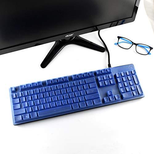 Keyboard Cover for Logitech G512 & G512 SE G413, Logitech K840 Keyboard, Logitech G512 G413 K840 Keyboard Cover Protector - Blue