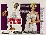 Psycho - Alfred Hitchcock – Film Poster Plakat Drucken