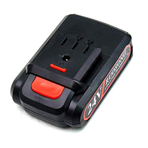 SFNTION Accesorios para Motosierra inalámbrica, Mini Motosierra eléctrica de 24 V Batería de Litio de Repuesto Recargable Mini Motosierra portátil de 24 V para una Sola Mano