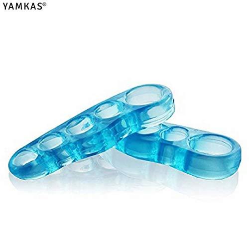 Yoga Toes - Corrige y Separa los Dedos, Alivia, tonifica y relaja los pies