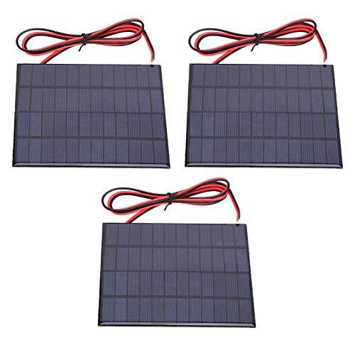 wosume Célula Solar, Panel Solar policristalino ecológico, prácticas Luces solares policristalinas de...