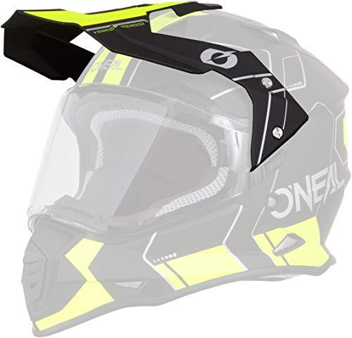 O\'NEAL   Motorrad-Helm-Ersatzteile   Street Adventure Motocross   Ersatzschirm Sierra Helmet Comb   Spare Visor Sierra Comb   Schwarz Neon-Gelb   One Size