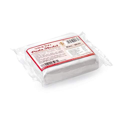 Saracino Pasta Di Zucchero Model Bianca Per Modellaggio Da 250 g Senza Glutine Made In Italy