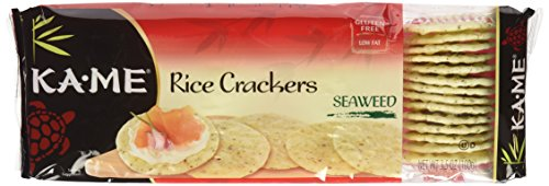 Ka-Me Rice Crackers, Seaweed, 3.5 oz