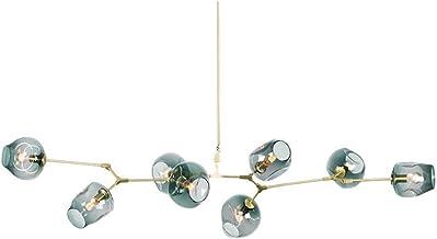 LED Moderne Minimalistische Glazen Verf Smeedijzeren Woonkamer Verlichting Restaurant Villa Kroonluchter Creatieve Persoon...