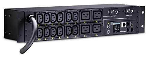 CyberPower PDU41008 Power Distribution Unit Switched 200-240 V/30 A 16 Outlets 2U Rackmount