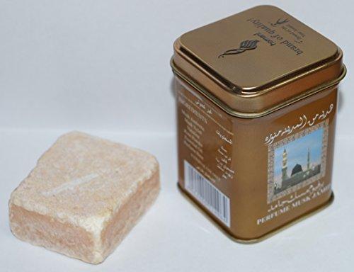 Nuevo Musk - 1 almizcle perfume arabe solido 25 grs - calida