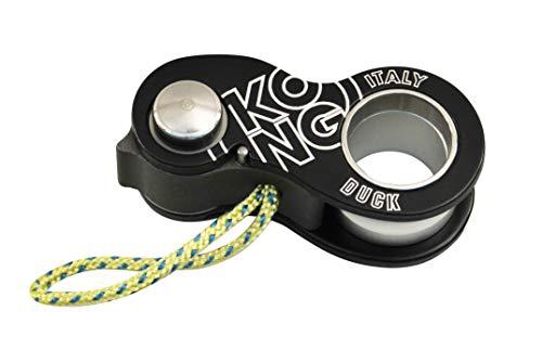 Kong Duck Seilklemme, schwarz