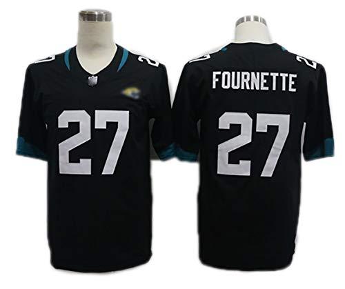 Rugby korte mouw, Jaguars, Fournette 27 Training Rugby kleding, American Football Sportswear, ademend zweet kostuum