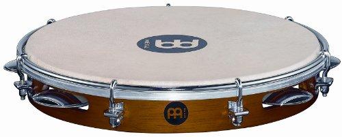 Meinl Percussion PA10CN-M Wood Pandeiro, 25,40 cm (10 Zoll) Durchmesser, chestnut