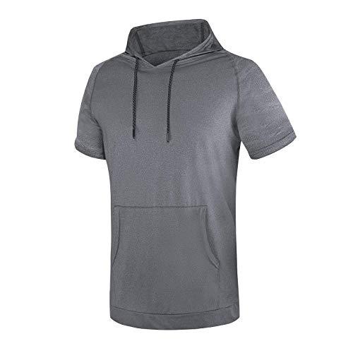 WHCREAT Camiseta Deportiva Hombre Top Entrenamiento