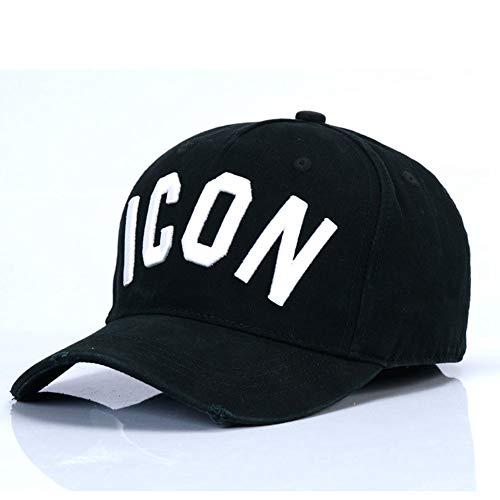 FDBQC Baseballmütze Für Männer Frauen Hysteresenhut Einstellbare Hut Mode Brief Icon Stickerei Hüte Visier Cap Papa Hüte