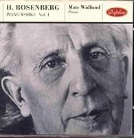 Rosenberg: Piano Works Vol 1
