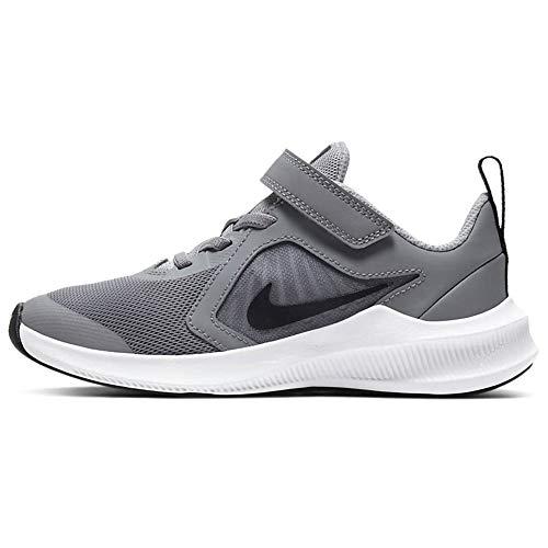 Nike Jungen Unisex Kinder CJ2067-003 Sneaker, Grau Schwarz Weiß, 30.5 EU