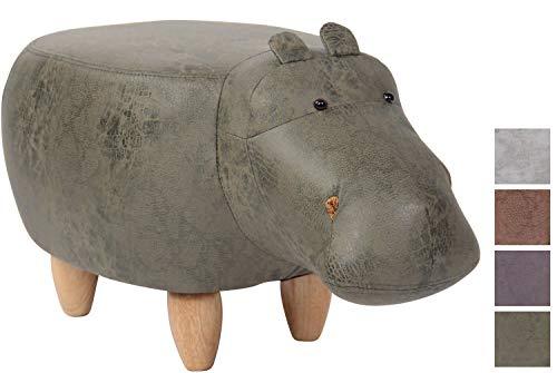 Taburete Hipopótamo Infantil Naulila I Taburete Otomana Tap