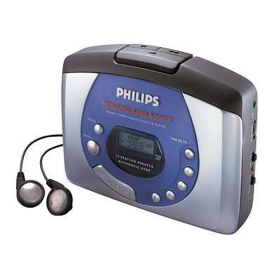 Philips AQ 6681 digitales Radio Tragbarer Kassettenspieler