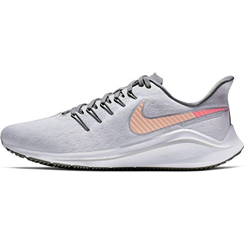 Nike Women's Air Zoom Vomero 14 Running Shoe Pure Platinum/Crimson Tint/Cool Grey Size 11 M US