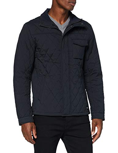 Scotch & Soda Mens Mittellange Steppjacke Quilted Jacket, Night 0002, S
