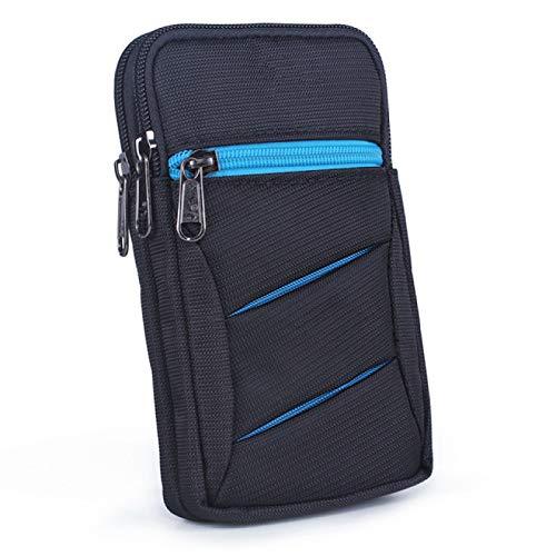 SENFEISM Bum Bag Hombres Cross Body Bolsas Cinturón Cintura Pack Gancho Unisex Teléfono Móvil Caso