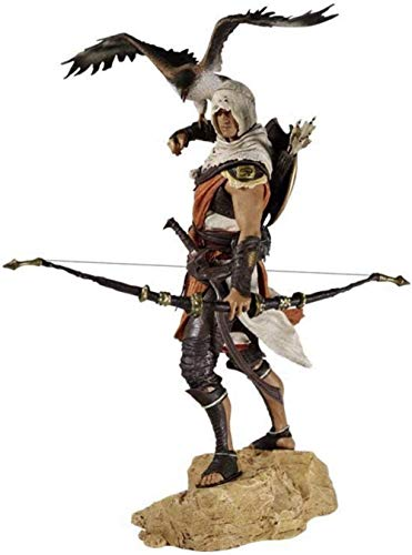 Clásico Assassins Creed Origins Estatua de Juguete Modelo de Personaje de Anime Modelo de Juego de Juguete Modelo de Personalidad Modelo de héroe Muñeca Figura de Anime Figura de Anime 25cm