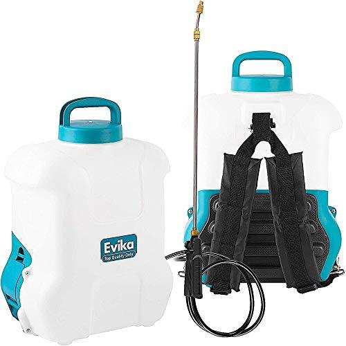 Akku Drucksprüher 16 liter, 12V Li-Ion Batterie, Elektrisch Unkrautvernichter Rückenspritze,...