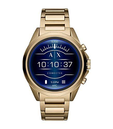 Armani Exchange Herren-Smartwatch mit Edelstahl Armband AXT2001