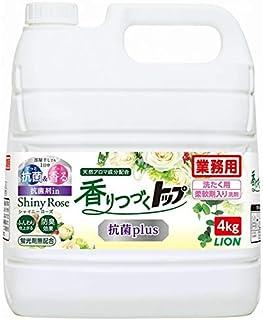 ライオン 柔軟剤入り洗濯洗剤 香りつづくトップ 抗菌plus 4kg×3本入