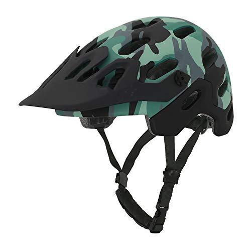 Casco de Ciclismo - Patinaje Casco de Seguridad Bicicleta de montaña Bicicleta Montar Casco Casco de Bicicleta Hombres y Mujeres Medio Casco Disfruta la Brisa (Color : C, Size : Large)