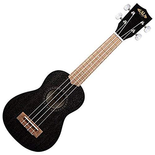 Kala KA-15 Satin Mahogany Soprano - Black