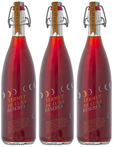 De Luna Vermouth Reserva - 3 botellas x 750 ml - Total: 2250 ml