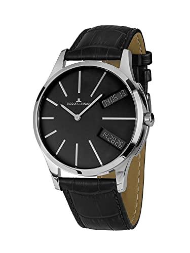 c3a4d4df53d Jacques Lemans Gents Watch Turnable Dualtime Chronograph 1 1515 C