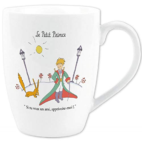 Mug Le Petit Prince en costume et le Renard \